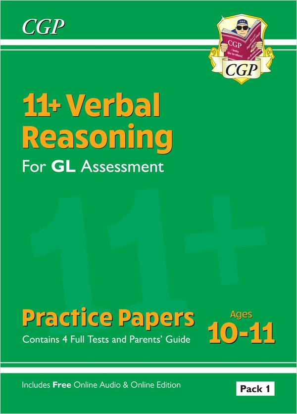 GL Assessment 11+ Verbal Reasoning Practice Papers (Multiple Choice)