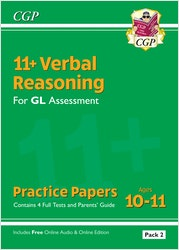 GL Assessment 11+ Verbal Reasoning Practice Papers (Pack 2)