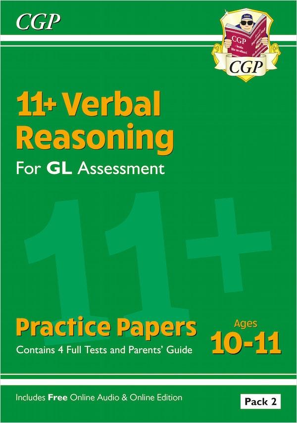 GL Assessment 11+ Verbal Reasoning Practice Papers (Pack 2)