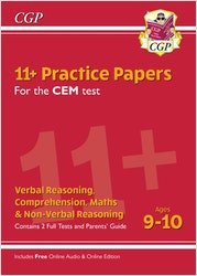 CEM 11+ Practice Papers (Ages 9-10)