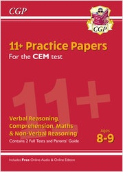 CEM 11+ Practice Papers (Ages 8-9)