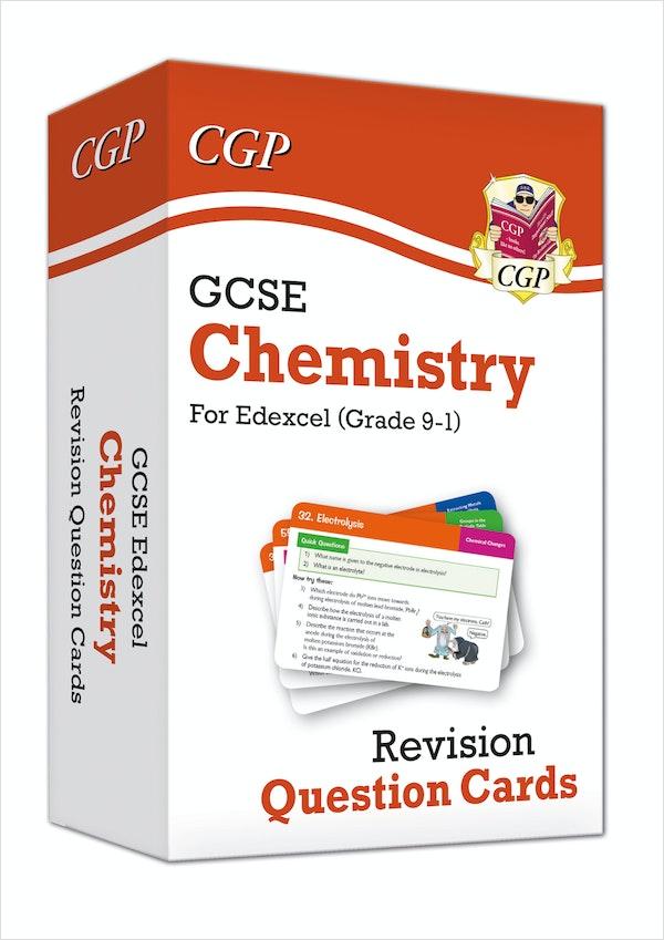 GCSE Chemistry Edexcel Revision Question Cards