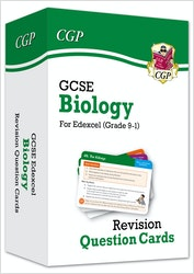 GCSE Biology Edexcel Revision Question Cards