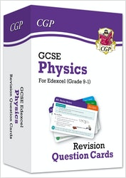GCSE Physics Edexcel Revision Question Cards