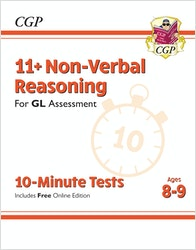 GL Assessment 11+ Non-Verbal Reasoning 10-Minute Tests (Ages 8-9)