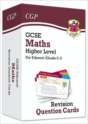 GCSE Maths Edexcel Revision Question Cards (Higher Level)