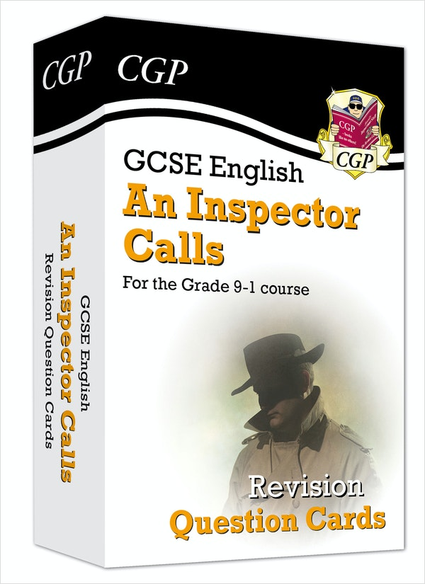 An Inspector Calls Revision Question Cards