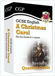 A Christmas Carol Revision Question Cards