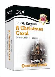A Christmas Carol Revision Question Cards