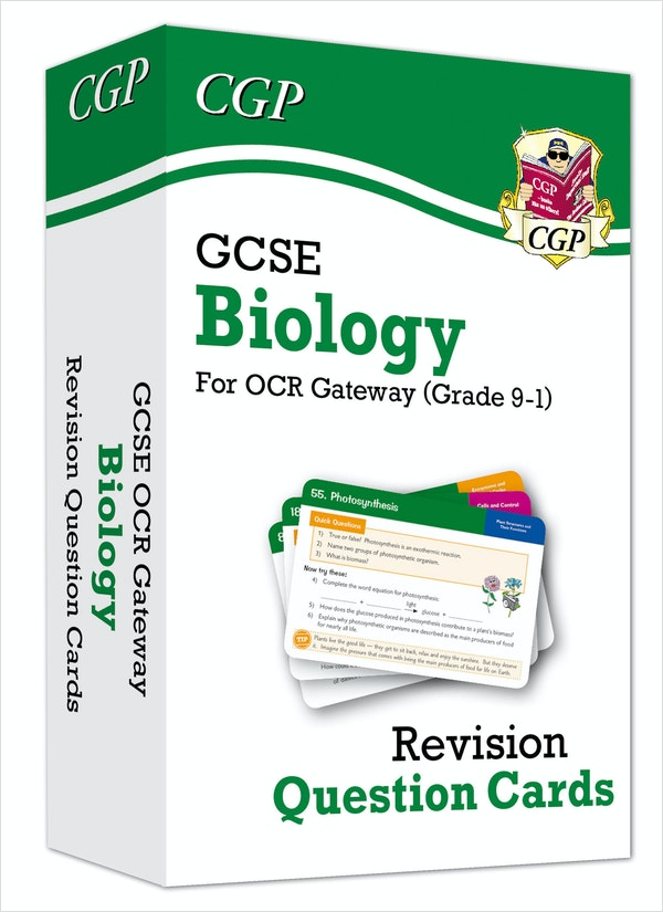 GCSE Biology OCR Revision Question Cards