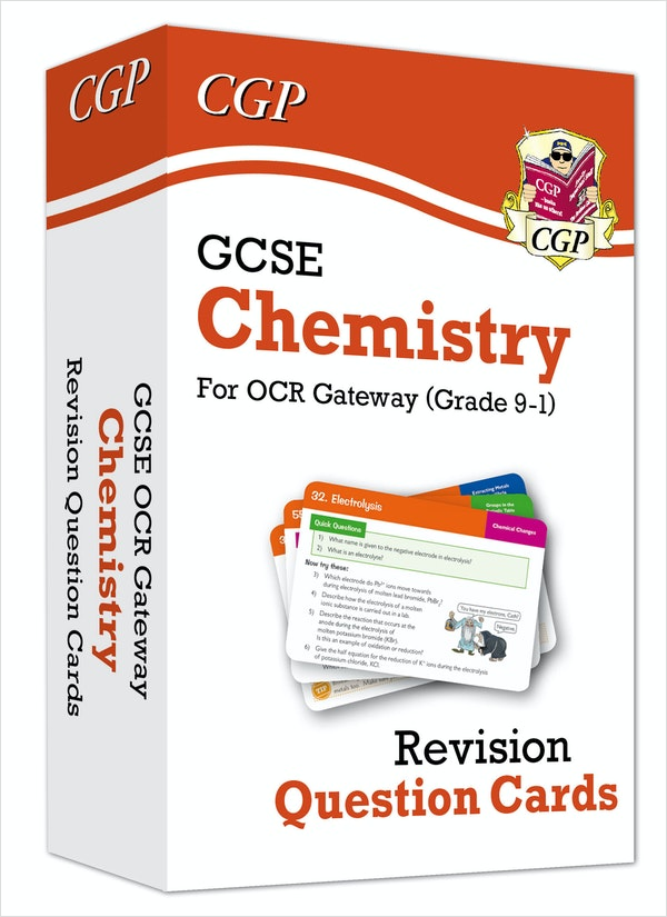 GCSE Chemistry OCR Revision Question Cards
