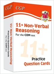 CEM 11+ Non-Verbal Reasoning Practice Question Cards