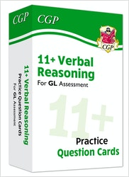 GL Assessment 11+ Verbal Reasoning Practice Question Cards