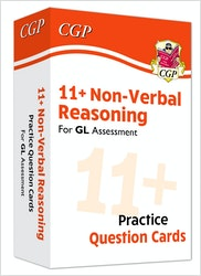 GL Assessment 11+ Non-Verbal Reasoning Practice Question Cards