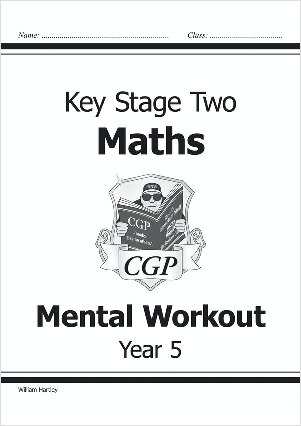 Year 5 Mental Maths Workout Book (Ages 9-10)