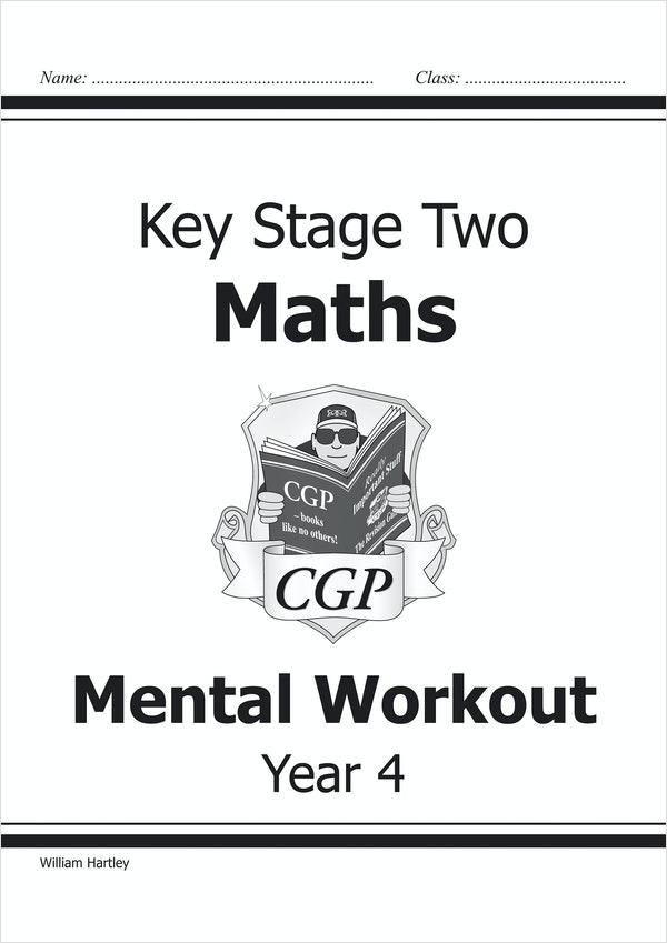 Year 4 Mental Maths Workout Book (Ages 8-9)