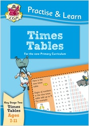 Practise & Learn Times Tables (Ages 7-11)