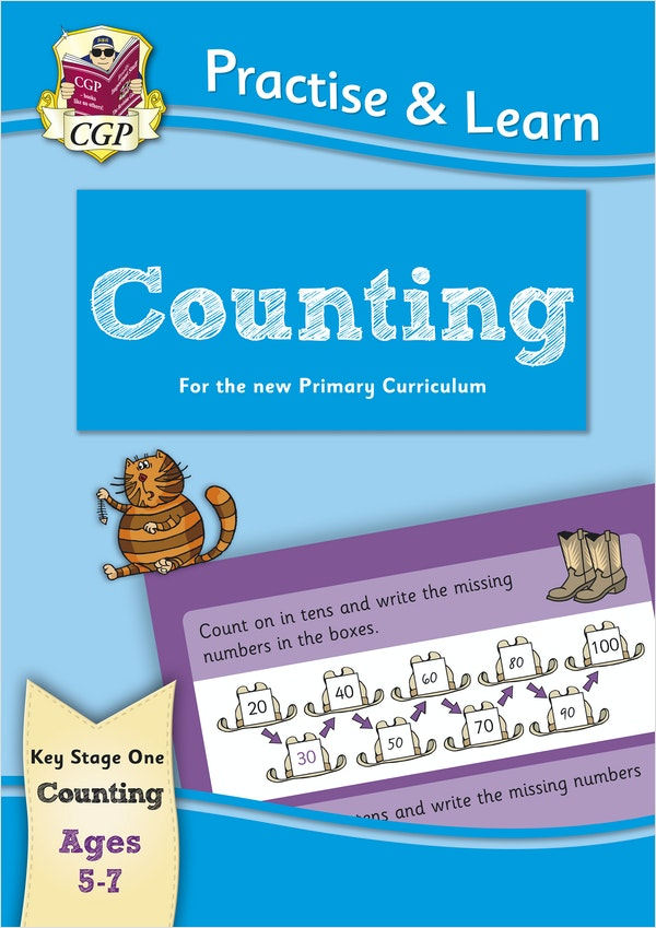 Practise & Learn Counting (Ages 5-7)