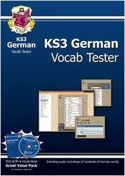 KS3 German Interactive Vocab Tester (DVD & Book)