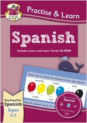 Practise & Learn Spanish (Ages 5-7)