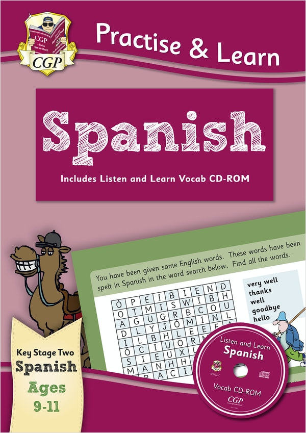 Practise & Learn Spanish (Ages 9-11)