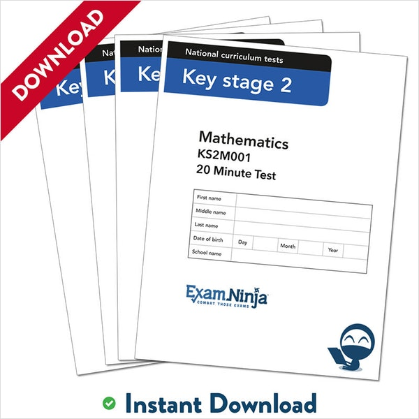 KS2 Maths 10-Minute Practice Papers Download