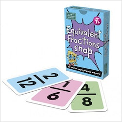 Equivalent Fractions Snap Card Game