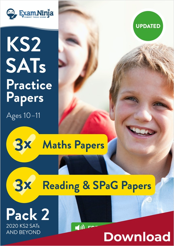 2019 KS2 SATs Practice Papers - Pack 2 Download