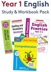 Year 1 English Practice Pack (Ages 5-6)