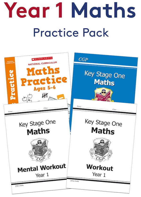 Year 1 Maths Practice Pack (Ages 5-6)