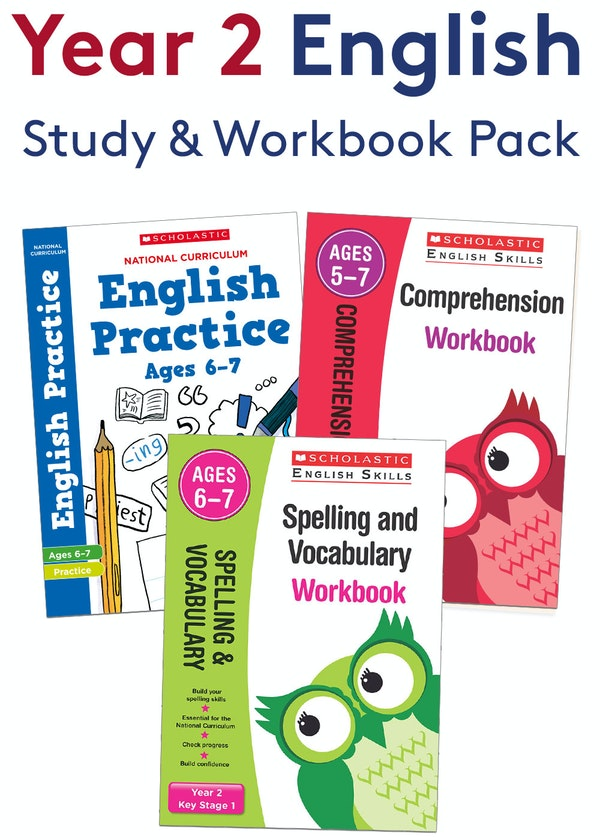 Year 2 English Practice Pack (Ages 6-7)