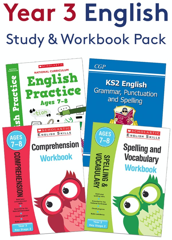 Year 3 SPaG Practice Pack (Ages 7-8)