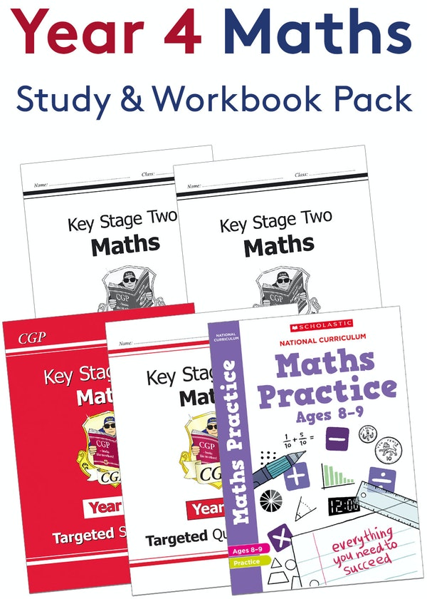 Year 4 Maths Practice Pack (Ages 8-9)