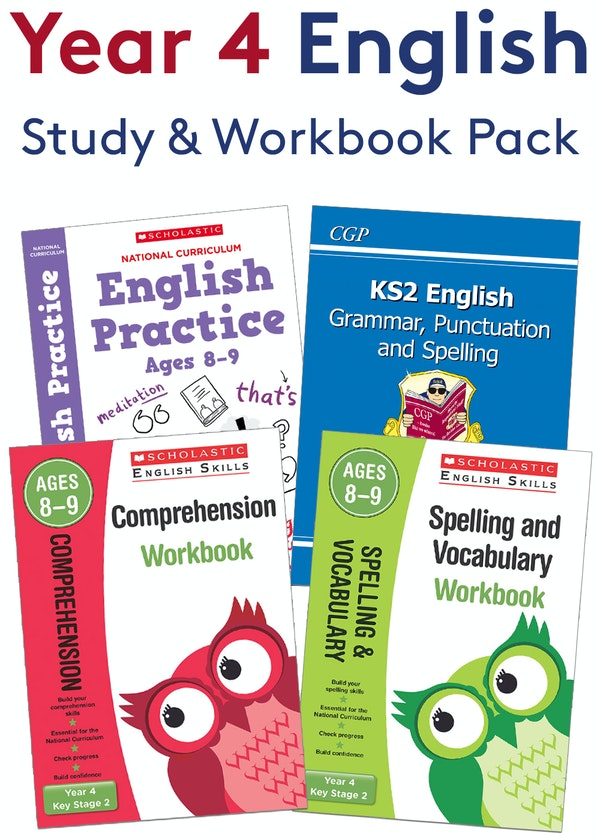 Year 4 SPaG Practice Pack (Ages 8-9)