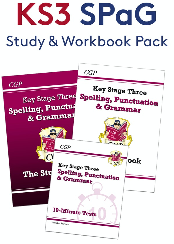 KS3 Spelling, Punctuation & Grammar Practice Pack