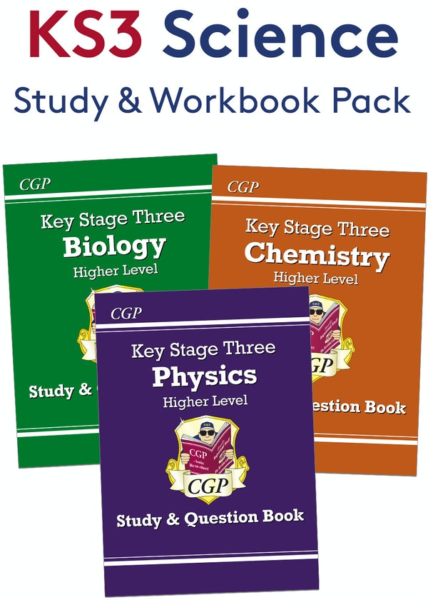 KS3 Science Study & Question Book Pack (Higher)