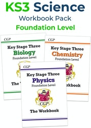 KS3 Science Workbook Set (Foundation)
