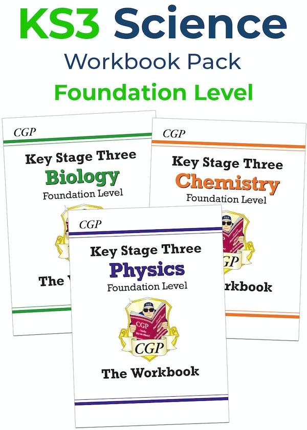 KS3 Science Workbook Set (Foundation)