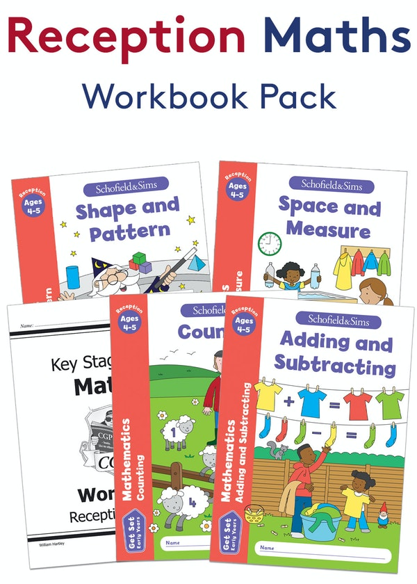 Reception Maths Practice Pack (Ages 4-5)