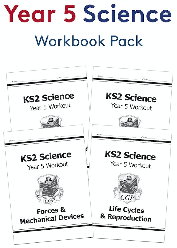 Year 5 Science Workout Pack (Ages 9-10)