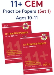 CEM 11+ Practice Papers (Pack 1)