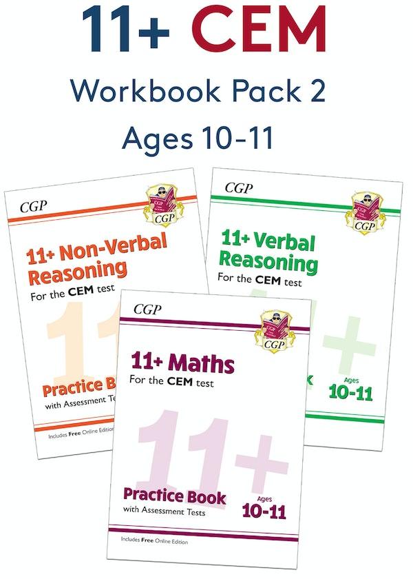 CEM 11+ Workbook Pack (Ages 10-11)