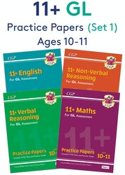 GL Assessment 11+ Practice Papers (Pack 1)