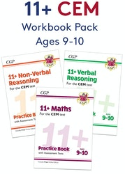 CEM 11+ Workbook Pack (Ages 9-10)
