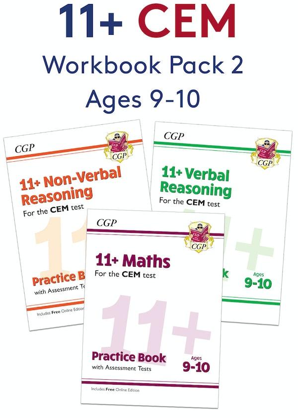 CEM 11+ Workbook Pack (Ages 9-10)