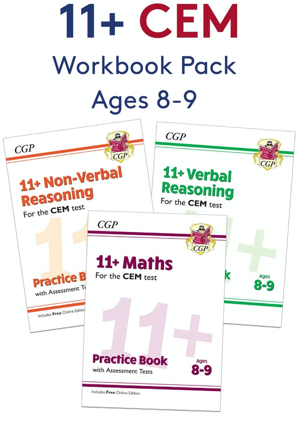 CEM 11+ Workbook Pack (Ages 8-9)