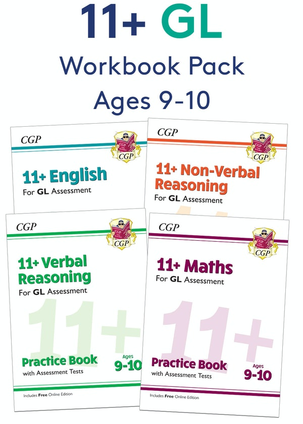 GL Assessment 11+ Workbook Pack (Ages 9-10)