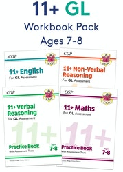 GL Assessment 11+ Workbook Pack (Ages 7-8)