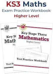 KS3 Maths Exam Practice Workbook (Higher)