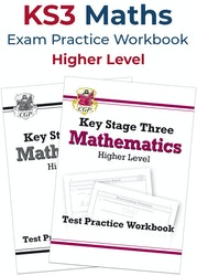 KS3 Maths Exam Practice Workbook (Higher)